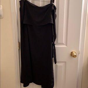 Zara pants with long skirt over- New